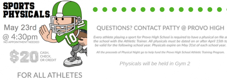 Sports physicals(1)