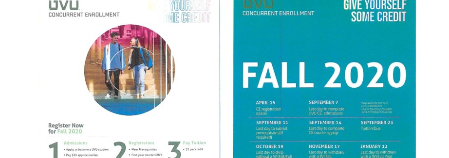 CE Fall 2020 Registration Card Complete
