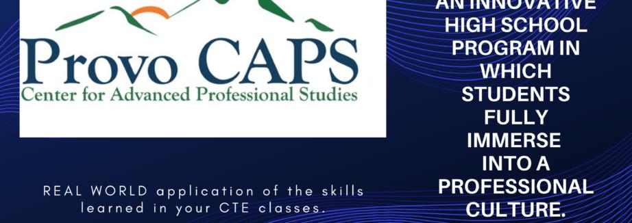 CAPS Banner for Website Slide